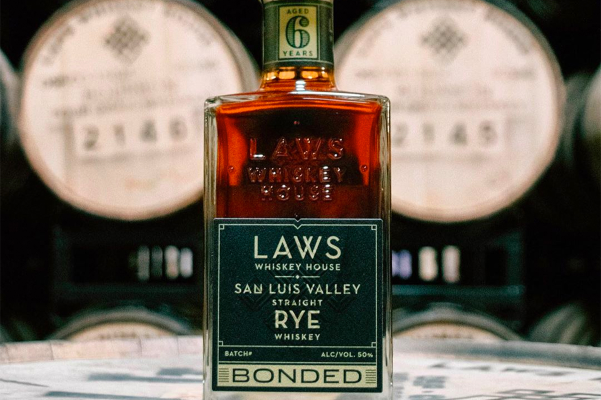 Laws 6 Year San Luis Valley Straight Rye Bonded