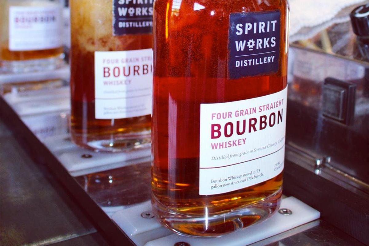 Spirit Works Four Grain Straight Bourbon