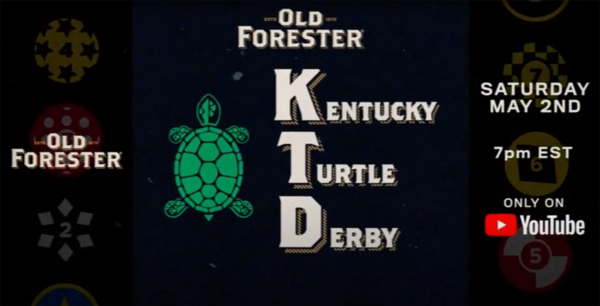 Old Forester Kentucky Turtle Derby