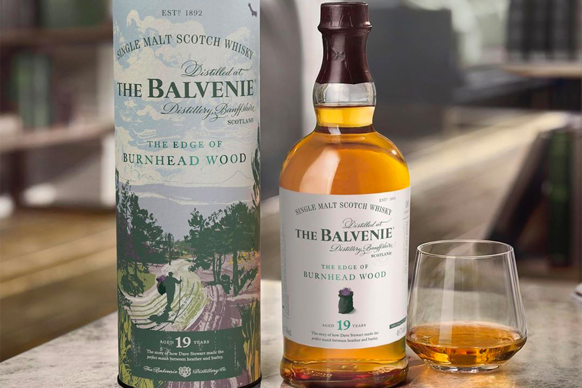 The Balvenie The Edge of Burnhead Wood 19 Year