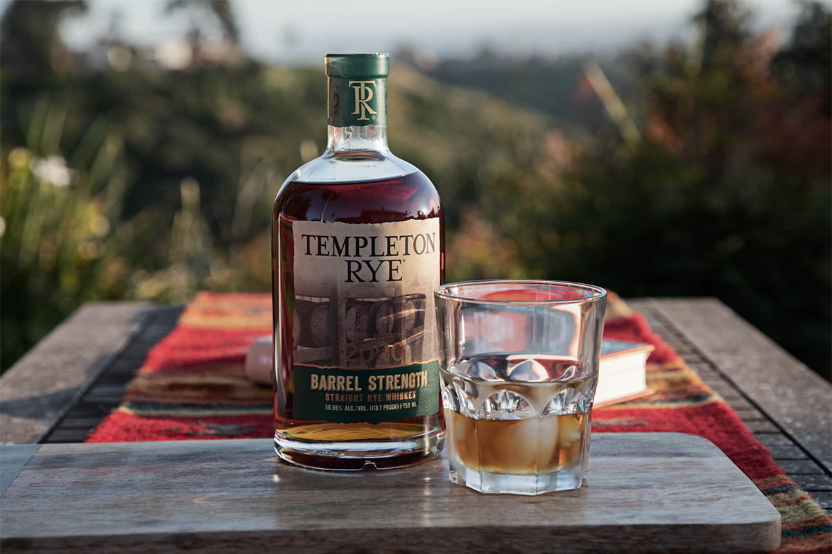 Templeton Rye Barrel Strength Straight Rye (2020 Edition)
