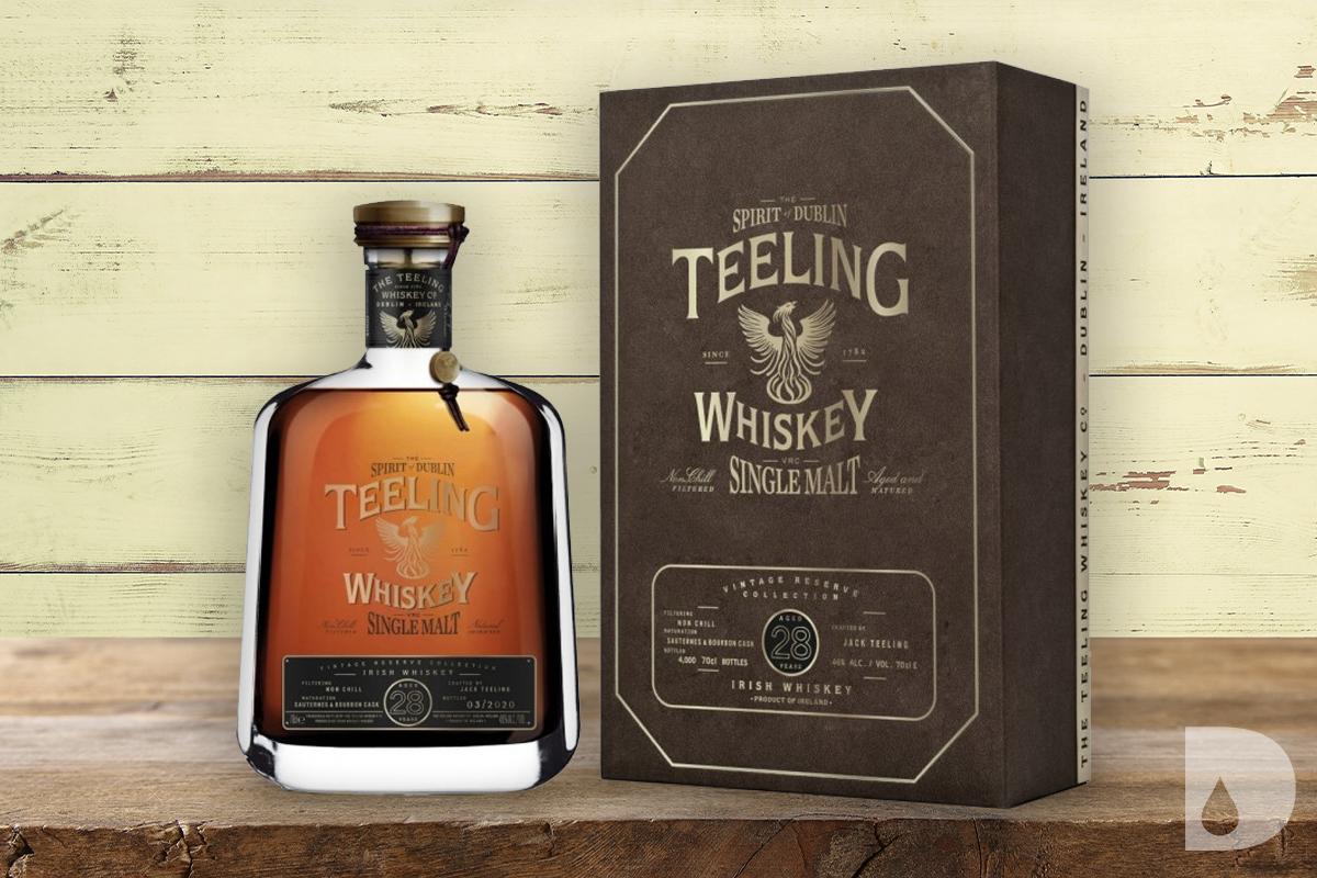 WhistlePig HomeStock Whiskey: Teeling Vintage Reserve 28 Year Single Malt