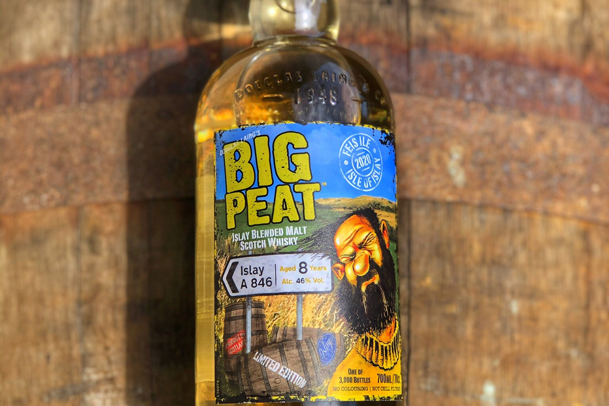 Big Peat 8 Year A846: Big Peat 8 Year A846 is the Fèis Ìle 2020 Edition