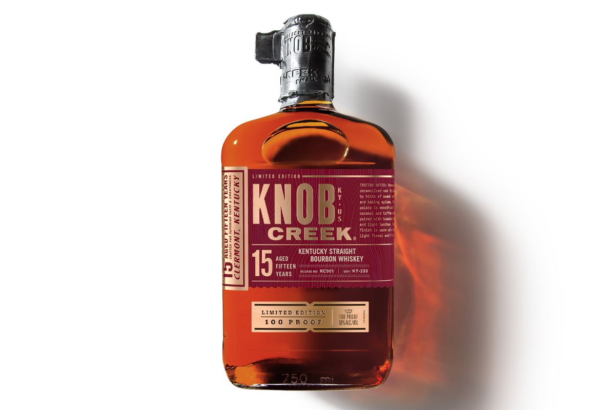 Old Forester Birthday Bourbon 2020: Knob Creek 15 Year Kentucky Straight Bourbon