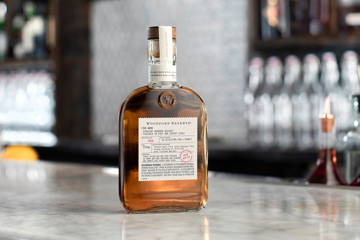 Old Forester Birthday Bourbon 2020: Woodford Reserve Five Wood Bourbon