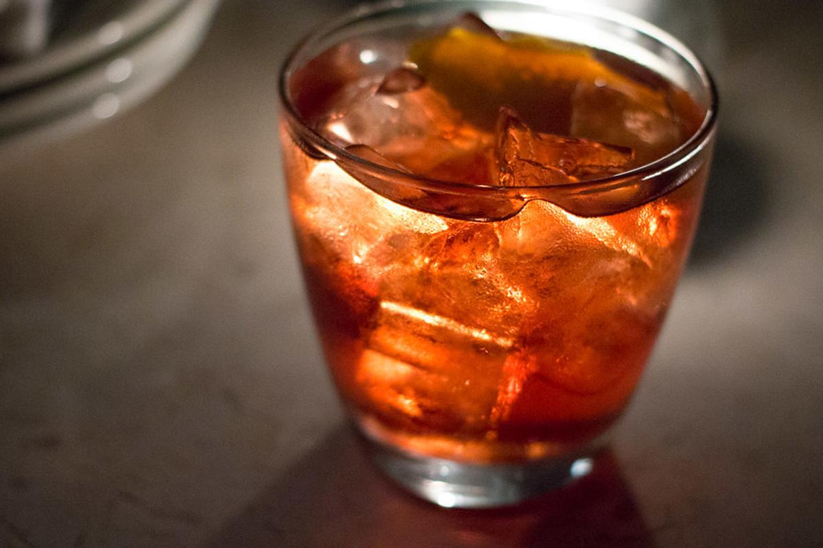 campari cocktails: Old Pal