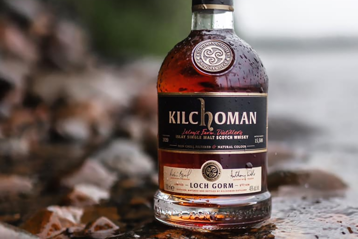 sherry matured single malt: Kilchoman Loch Gorm 2020 Edition