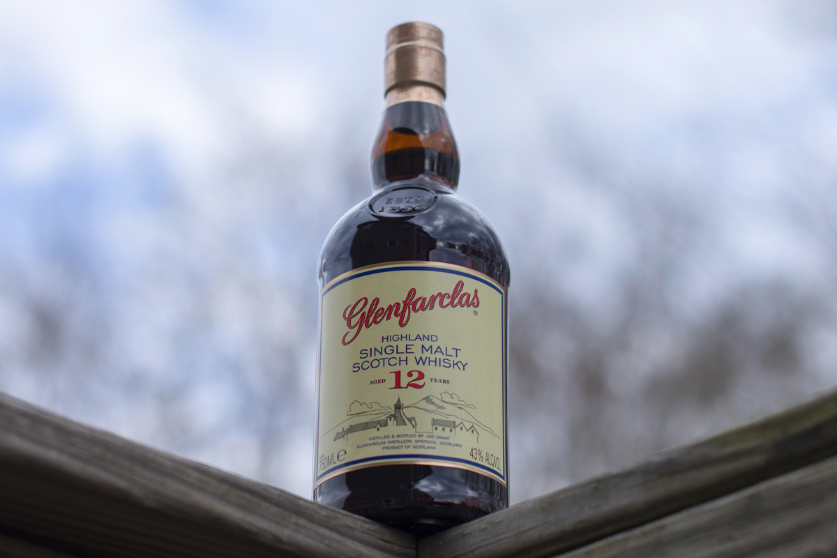 sherry matured single malt: Glenfarclas 12 Year