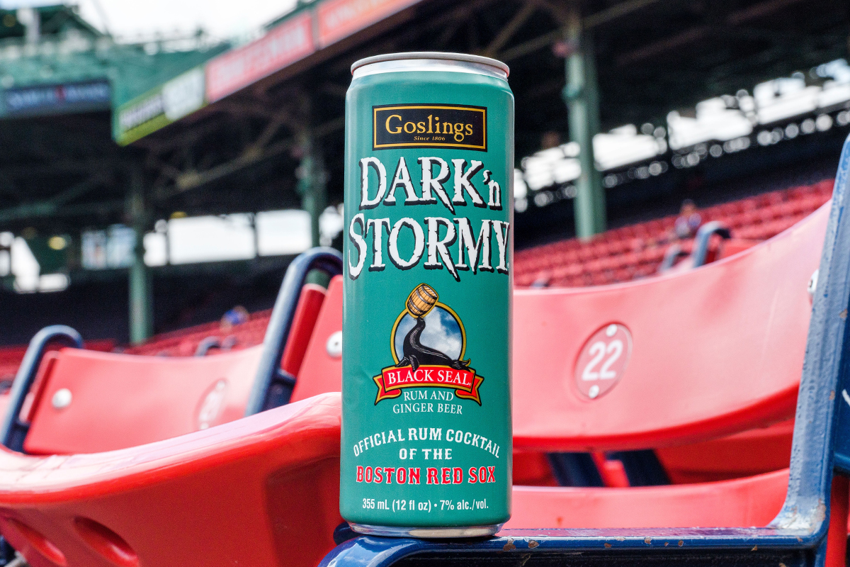 Goslings Dark 'n Stormy Boston Red Sox Edition