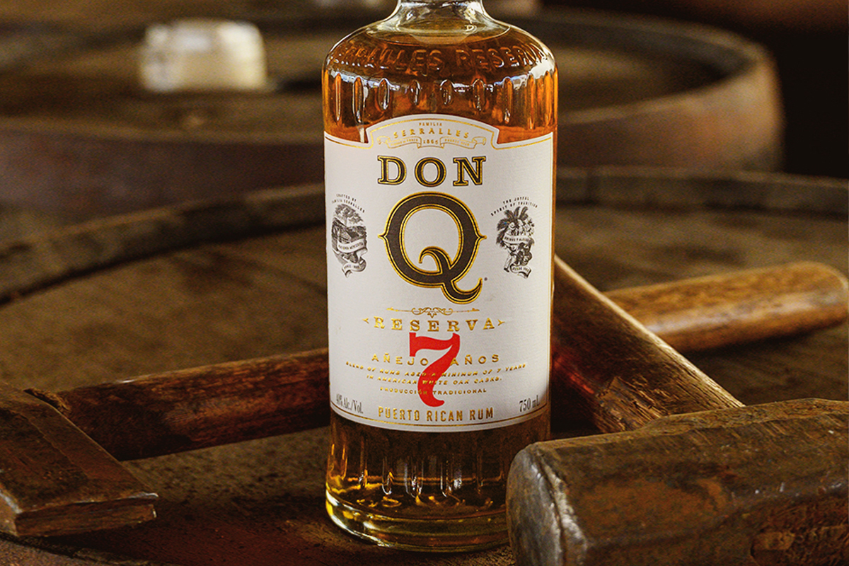 wild turkey rare breed rye: Don Q Reserva 7