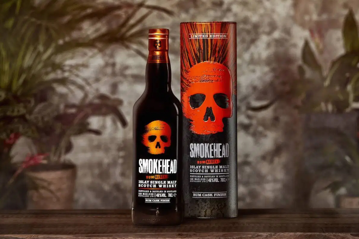 Westland Outpost Range: Smokehead Rum Rebel