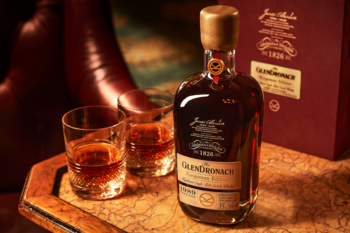 Four Roses 2020 Limited Edition: GlenDronach Kingsman Edition 1989