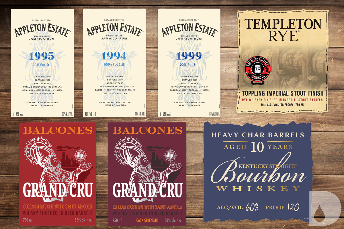 Diageo 2020 Special Releases: Upcoming TTB Labels