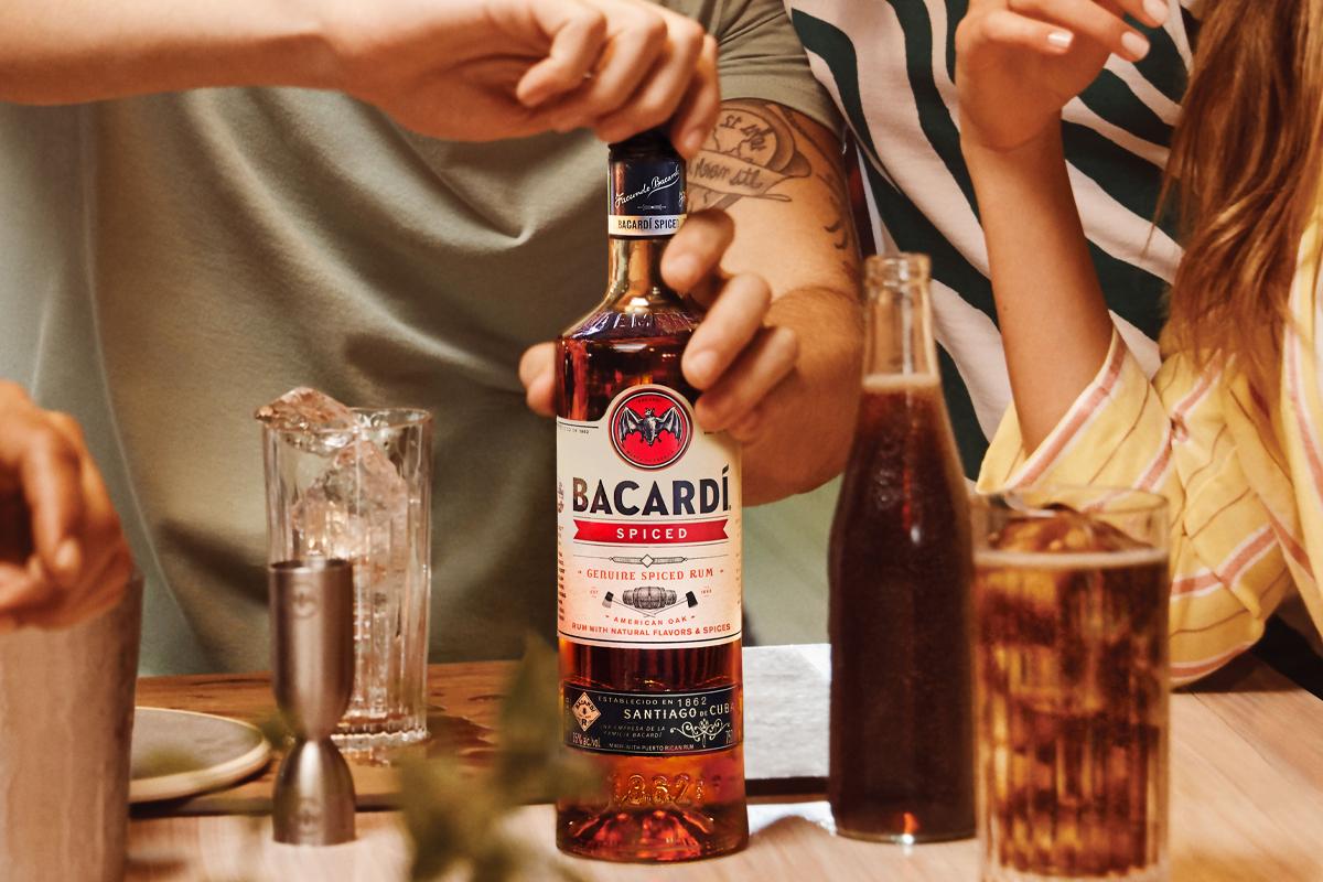 Parker's Heritage Heavy Char: Bacardí Spiced Rum