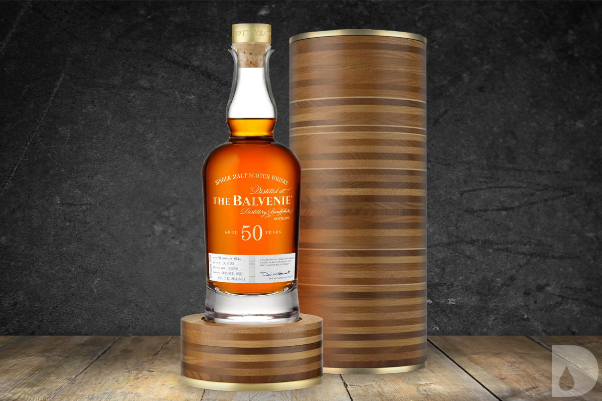 Parker's Heritage Heavy Char: The Balvenie Fifty: Marriage 0614