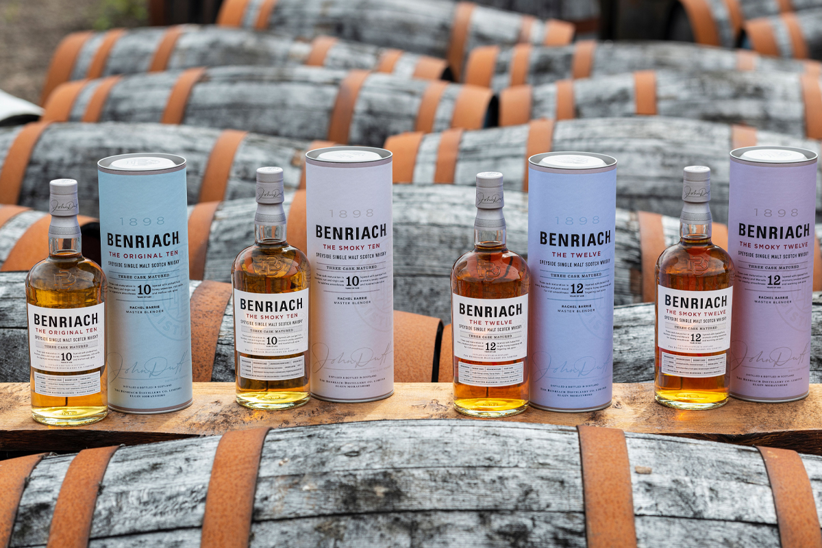 Parker's Heritage Heavy Char: Benriach Core Range