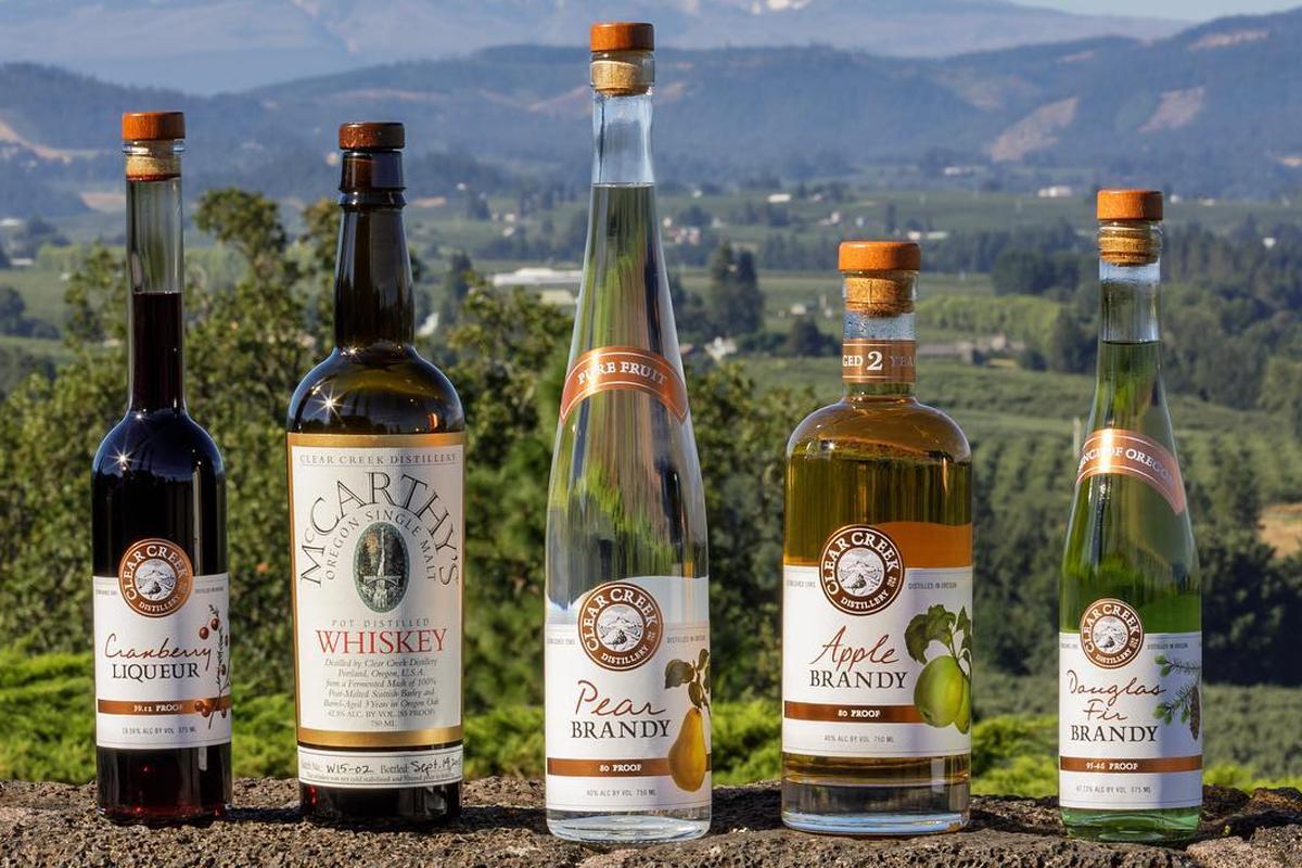 Hood River Distillers: Clear Creek spirits