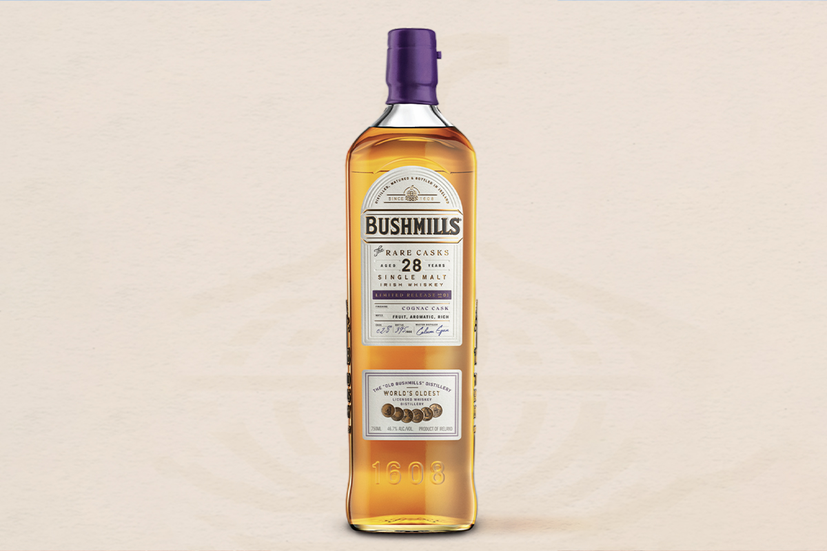 Highland Park Cask Strength: Bushmills 28 Year The Rare Casks Cognac Single Malt