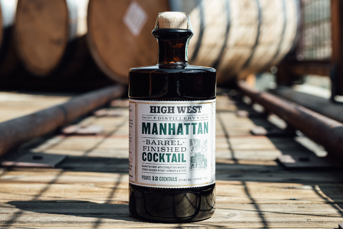 Highland Park Cask Strength: High West Barrel Finished Manhattan Cocktail