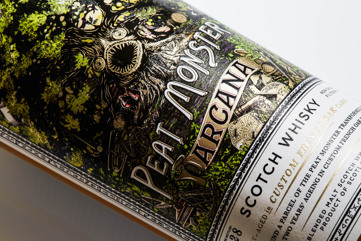 Herradura Legend: Compass Box Peat Monster Arcana