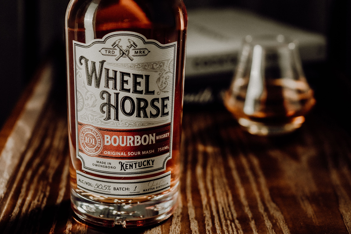 Herradura Legend: Wheel Horse Bourbon (Batch 1)