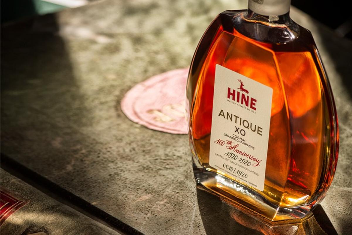Jim Beam Lineage: Hine Antique XO 100th Anniversary 1920-2020 Cognac
