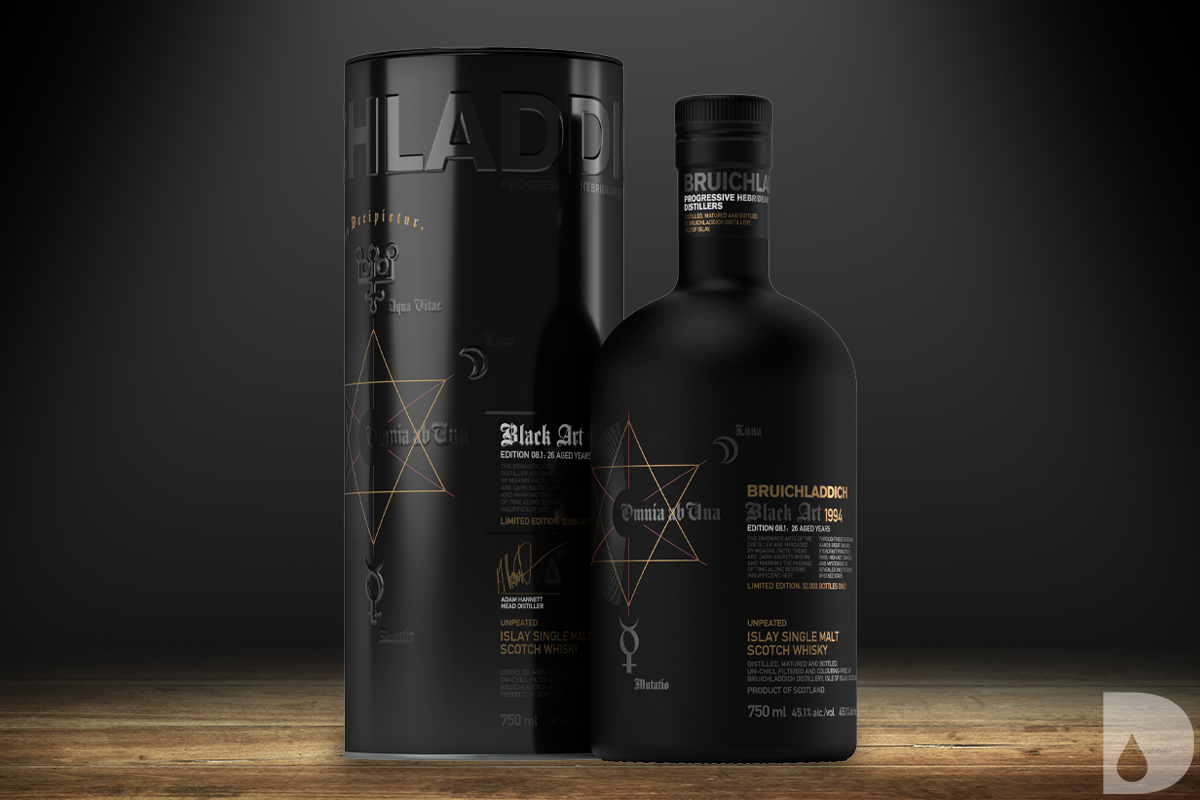 Taketsuru Pure Malt: Bruichladdich Black Art 1994 08.1 Edition