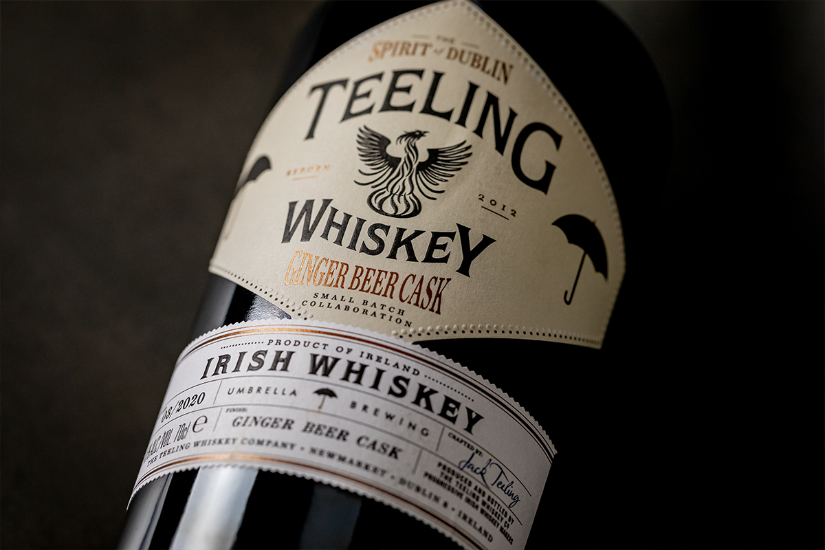Taketsuru Pure Malt: Teeling Umbrella Brewing Ginger Beer Cask
