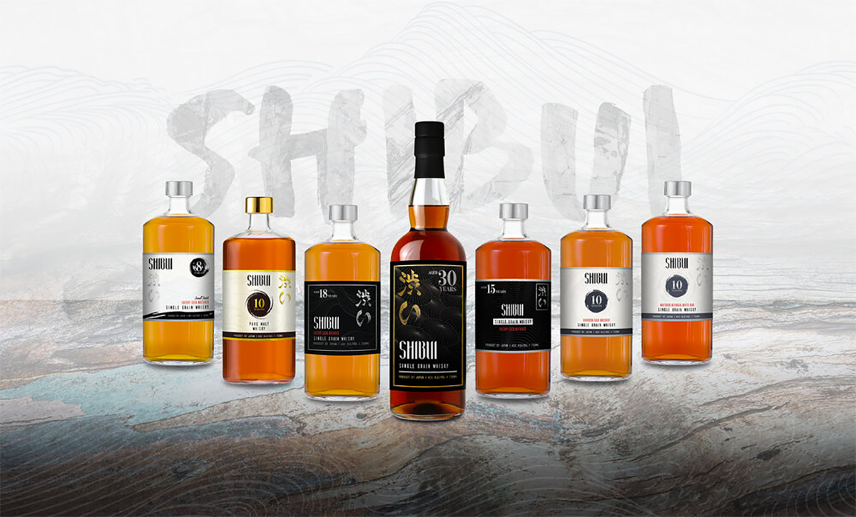 Shibui Japanese Whisky Launches Brand With Nine Expressions