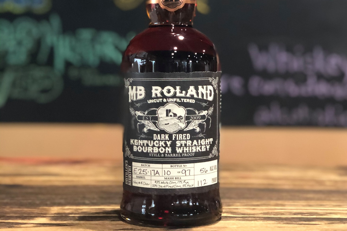 MB Roland Dark Fired Straight Bourbon