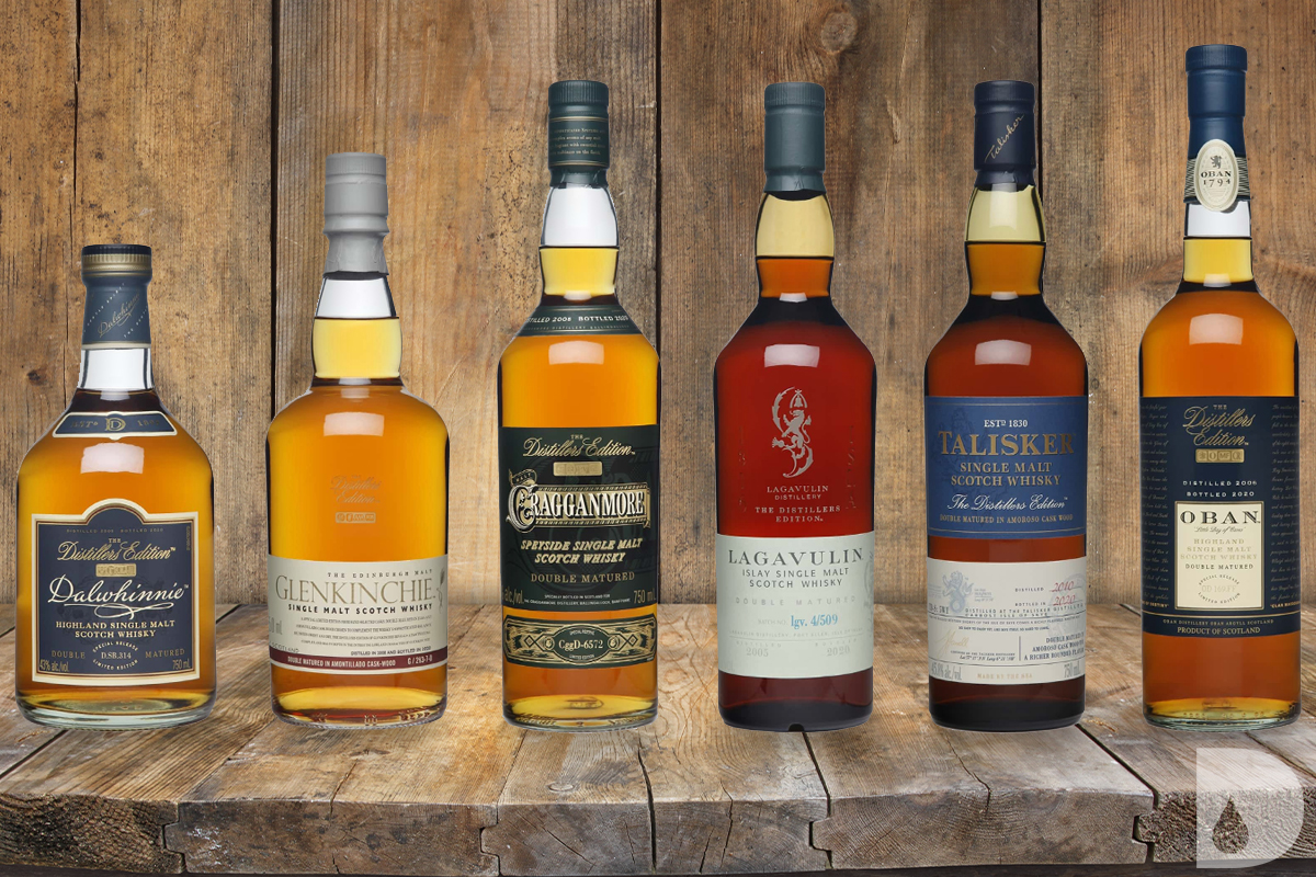 Diageo's 2020 Distillers Edition Collection
