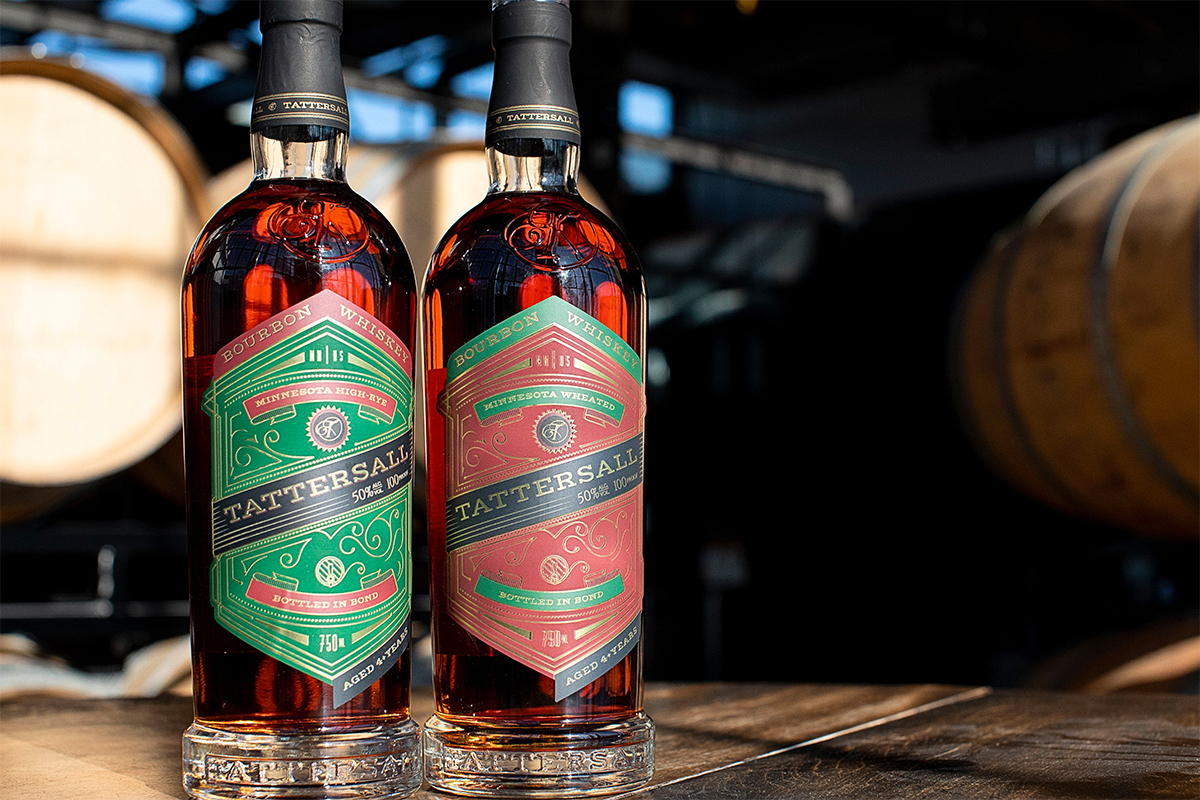 Tattersall Releases Two Bottled in Bond Bourbons