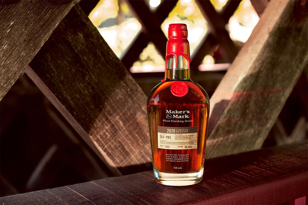 American Whiskey Gift Guide 2020: Maker's Mark Wood Finishing Series 2020