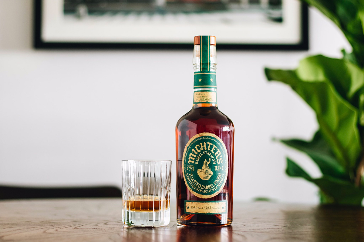 American Whiskey Gift Guide 2020: Michter's US*1 Toasted Barrel Finish Rye (2020 Release)