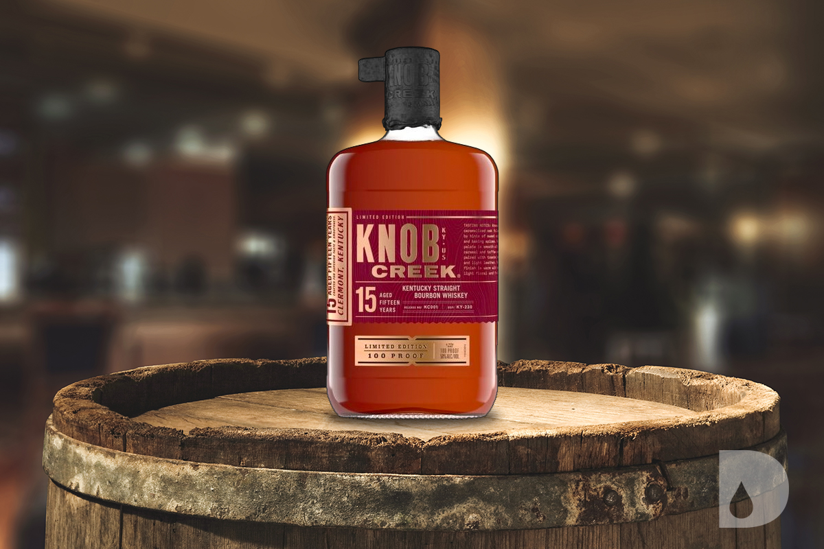 American Whiskey Gift Guide 2020: Knob Creek 15 Year Kentucky Straight Bourbon