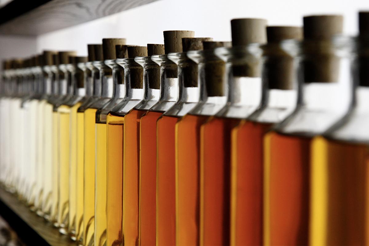 Louis XIII Cognac: Rémy Martin eaux-de-vie samples