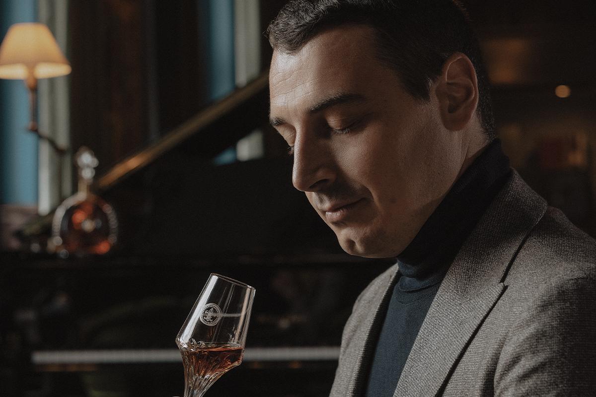 Loiseau tasting Louis XIII Cognac