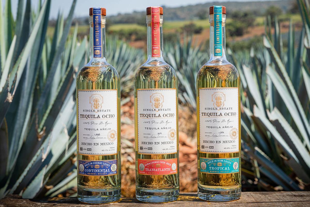 restoration rye: Tequila Ocho 2020 Cask Finish Range
