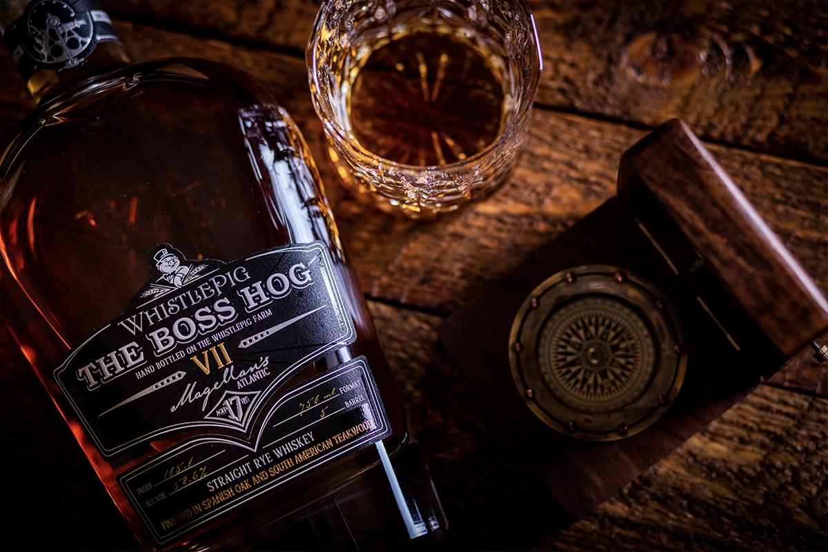 World Whiskey Gift: Whistlepig The Boss Hog VII: Magellan's Atlantic