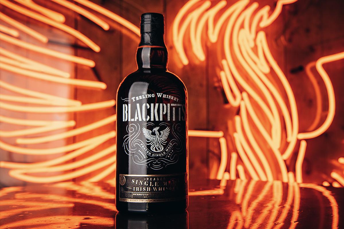 World Whiskey Gift: Teeling Blackpitts Peated Single Malt