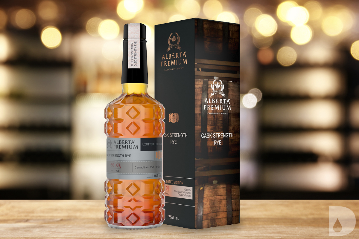 Thomas S Moore Bourbon: Alberta Premium Cask Strength Rye Whisky