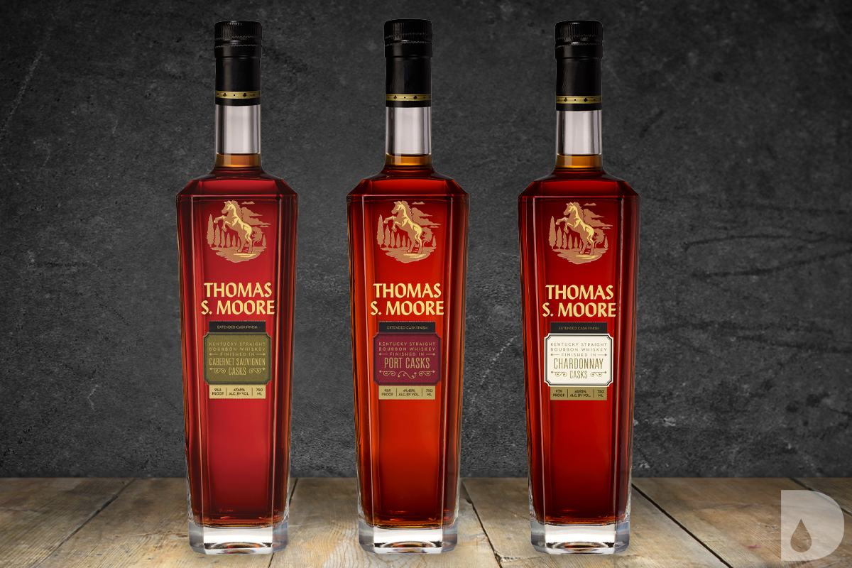 Thomas S Moore Bourbon Extended Cask Finish Series