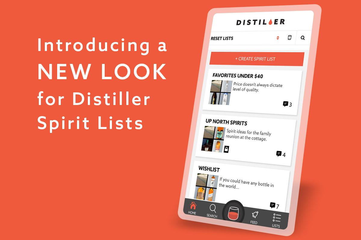 Distiller Lists