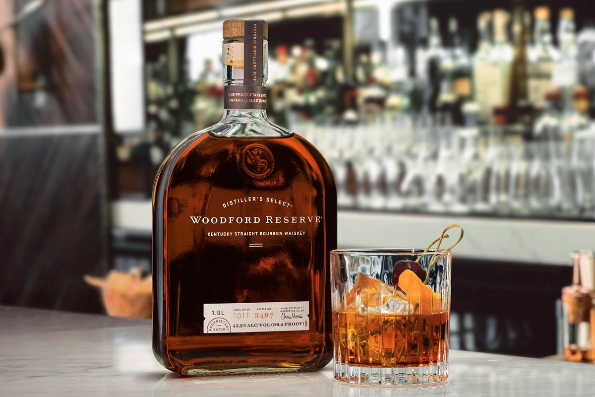 home bar guide: Woodford Reserve Bourbon