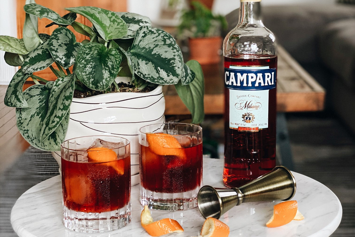 home bar guide: Campari