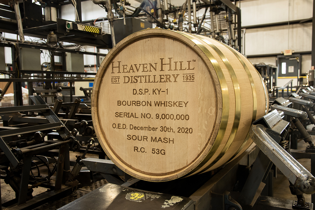 Ezra Brooks 99: Heaven Hill's nine-millionth barrel