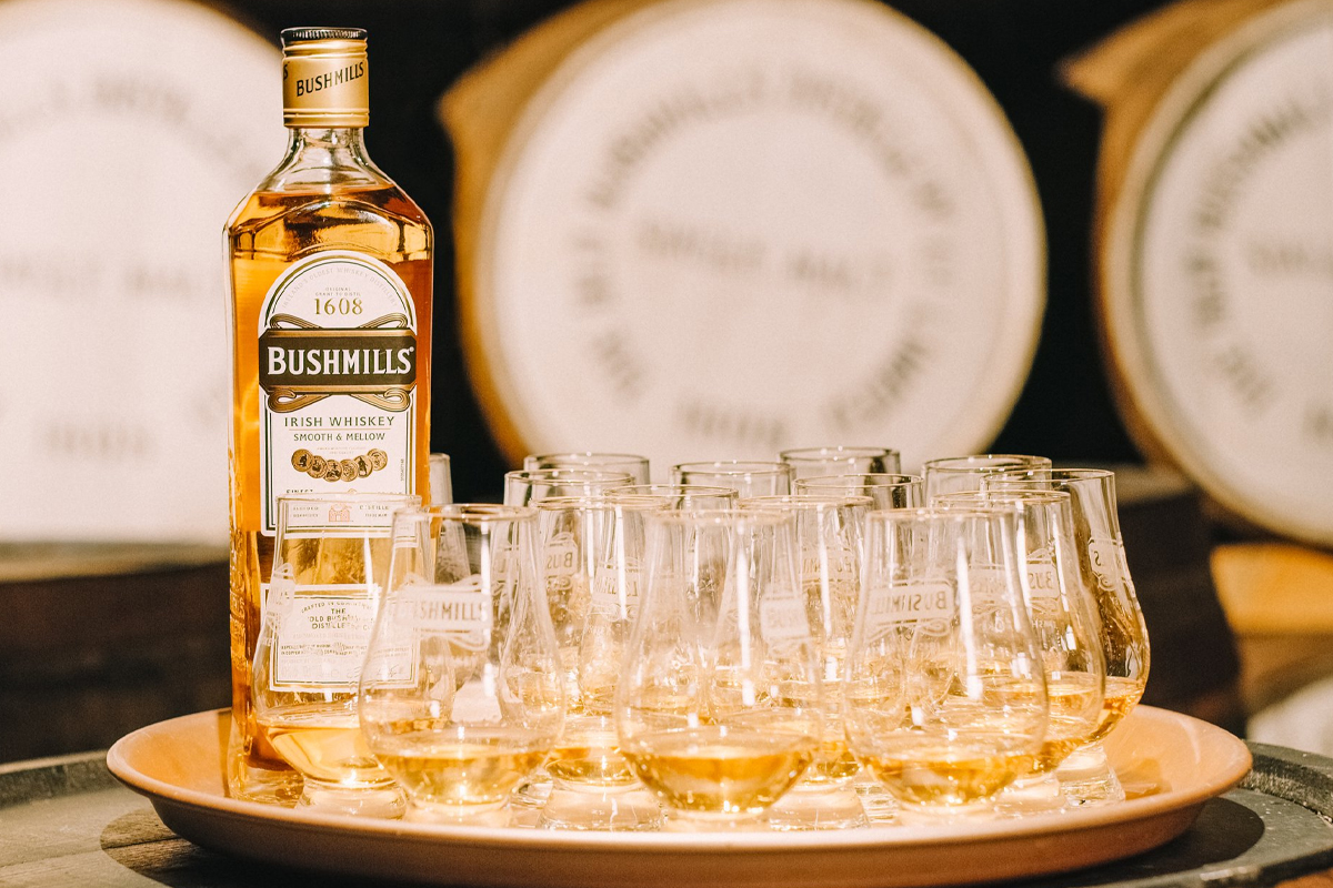 Ezra Brooks 99: Bushmills