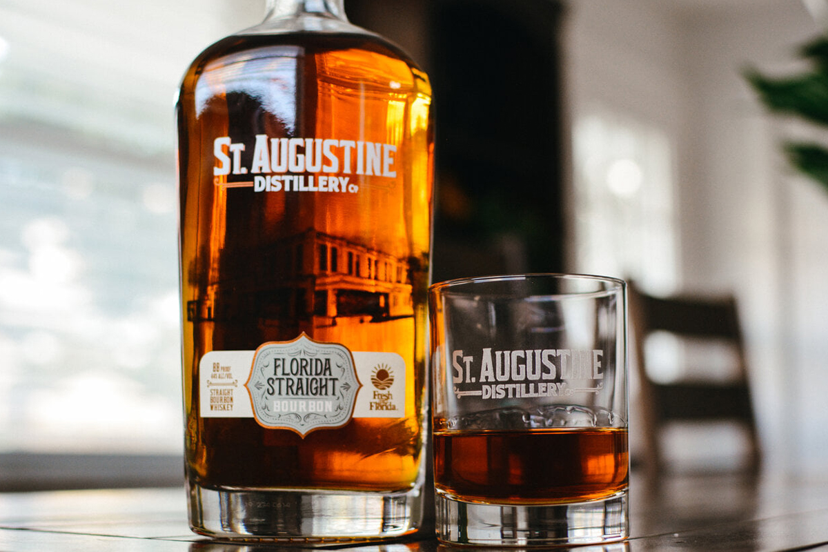 St. Augustine Distillery: Florida Straight Bourbon
