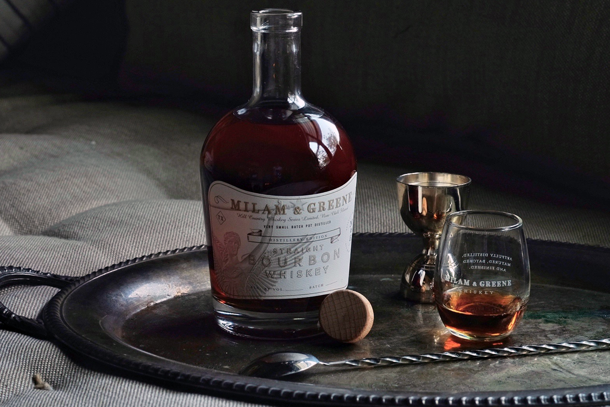 Texas Whiskey: Milam & Greene Distillery Edition Straight Bourbon