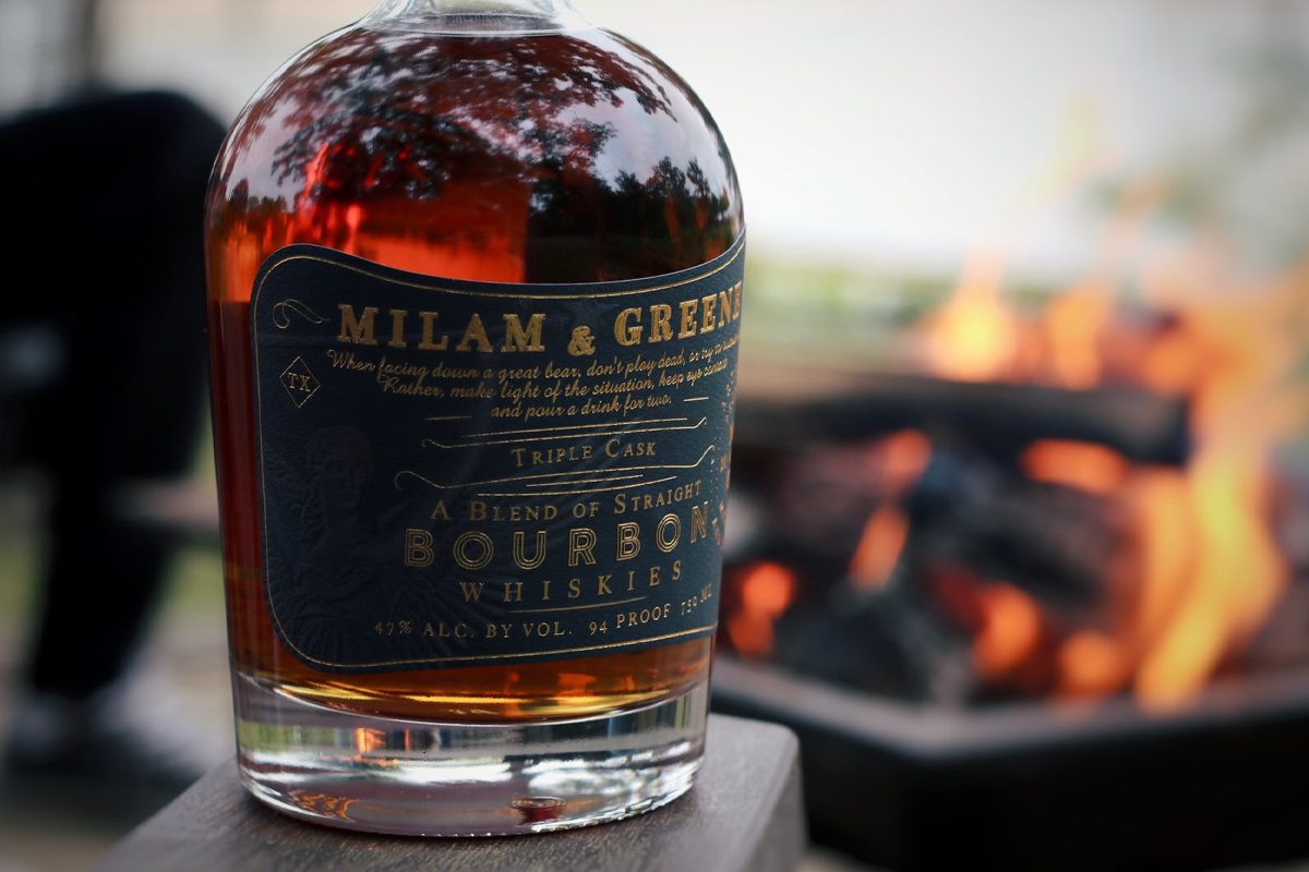 bourbon blending: Milam & Greene Triple Cask Bourbon